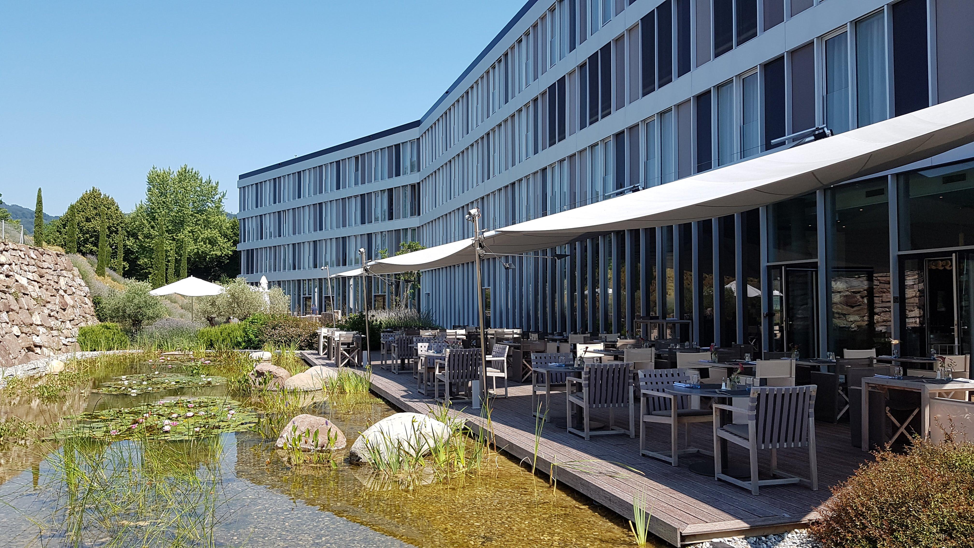 Terrasse | Modern Times Hôtel | 4 étoiles à Vevey - Montreux