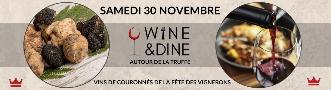Wine & Dine Truffe