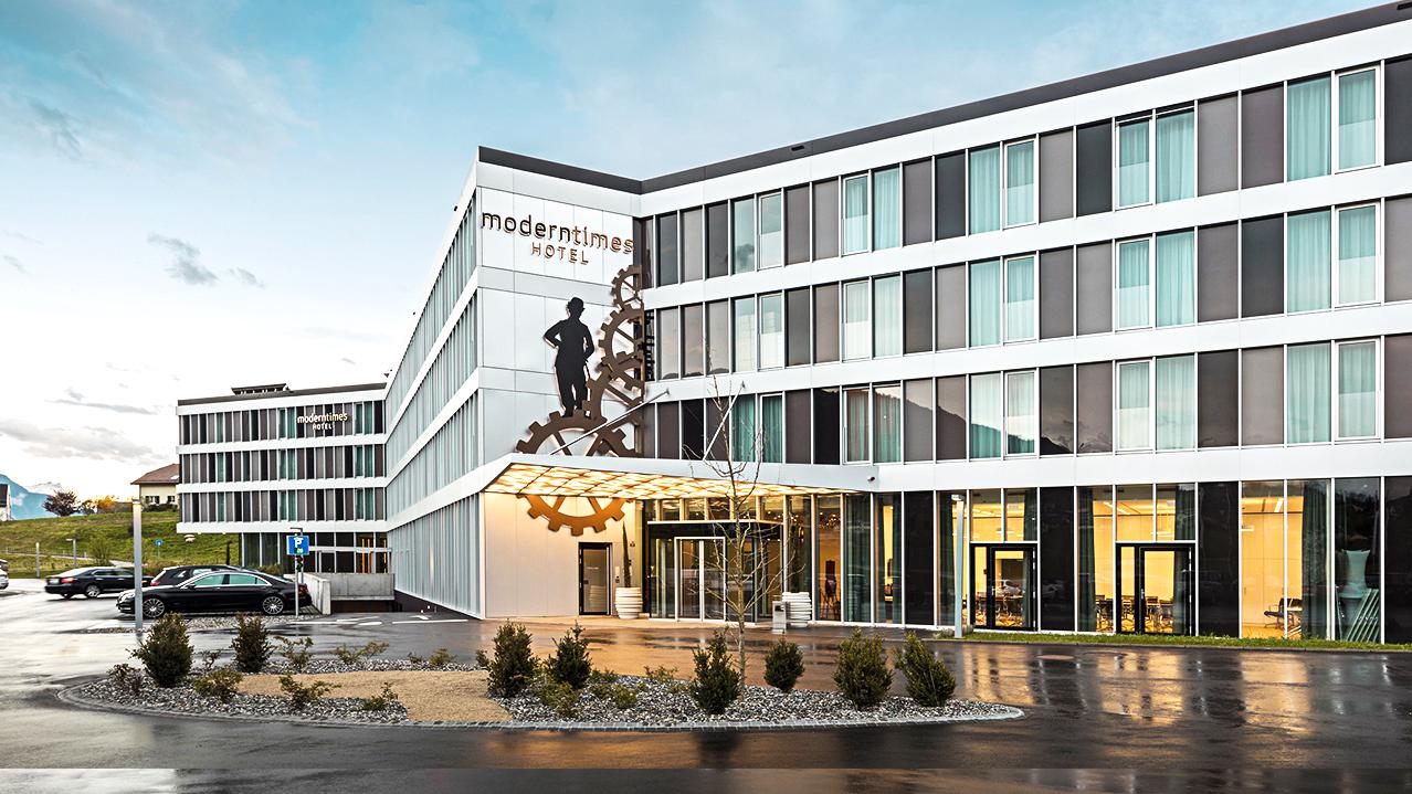 Modern Times Hôtel 4 étoiles à Vevey-Montreux dédié à Charlie Chaplin